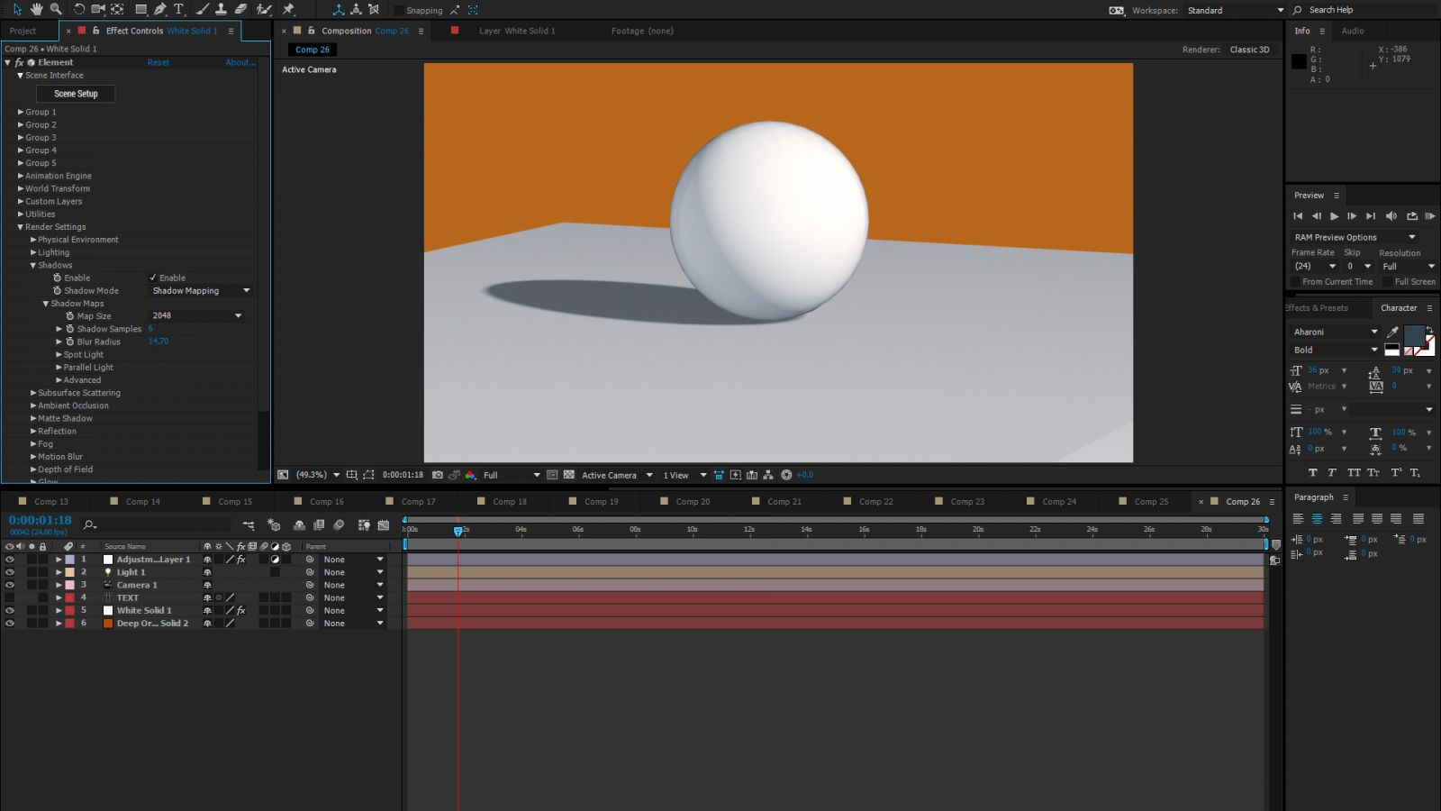 how to change anchor point after effects