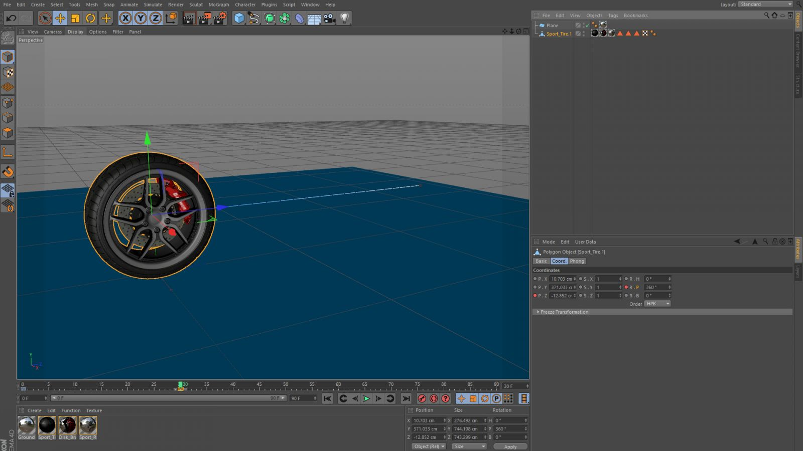 Animating In C4d: Change An Object Parameter Then Ctrl Click On The  Parameter Keyframe Dots For The Value To Create A Create A Keyframe Then  Move Forward