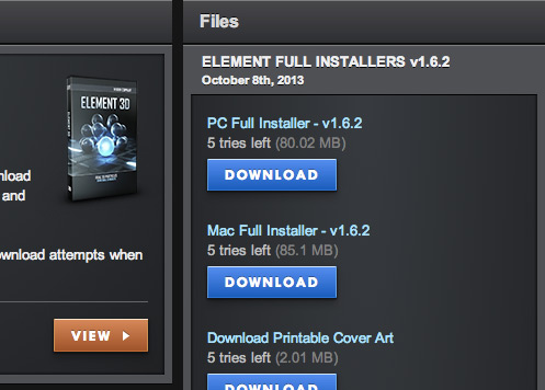 Element 3D Plugin After Effects Free Download (Win & Mac)