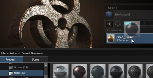 element 3d metal material pack free download