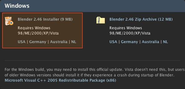 download blender for mac os x