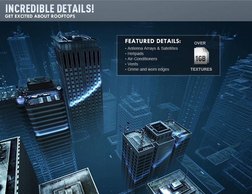 Video Copilot Element 3D Metropolitan Pack